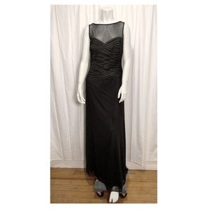 TADASHI SHOJI Black evening gown